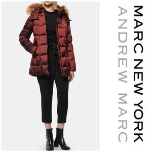 Andrew Marc Maddy Quilted Puffer Jacket